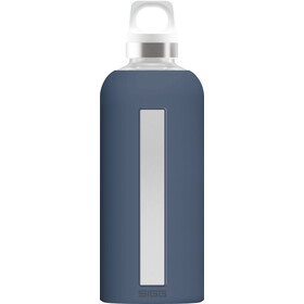 Sigg Star Botella de cristal 0,5l, midnight